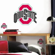 amazon ncaa ohio state buckeyes wall accent large amazon ncaa ohio state buckeyes wall accent large decal stickers pediments sports outdoors