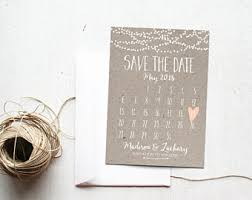 custom save the dates wedding save the dates etsy