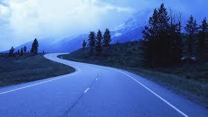 mountain trees wyoming national park beautiful road teton grand