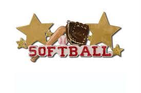 Softball Christmas Ornament - softball christmas ornament personalized christmas ornament