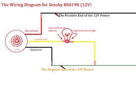 sensky bs019b dc 12v corridor toilets human body infrared detector