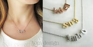 customize your own necklace build your own necklace custom initial necklace personalized