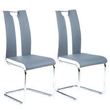chaise pour salle manger chaise cuisine grise idmarket chaises x4 grises pour salle a