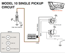 pickup and harness wiring schematics tv jones