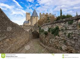 Carcassonne Medieval City Of Carcassonne In France Royalty Free Stock Photos