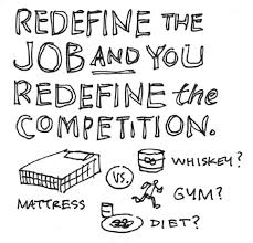 the jobs to be done mattress interview as seen in competing