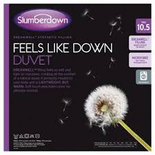 10 5 Tog Duvet Kingsize Buy Slumberdown Feels Like Down 10 5 Tog Duvet Double From Our