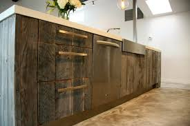 magnificent contemporary kitchen design with chic kitchen island most seen gallery in the contemporary reclaimed wood kitchen cabinets for your homes ideas