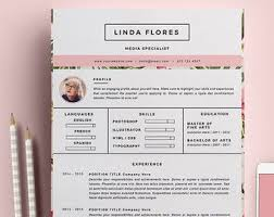 Creative Resume Sample by Cat Resume Template Illustrator Resume Templates On Creative