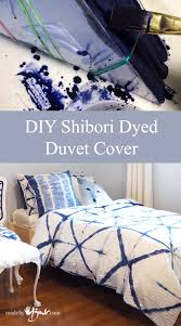 Duvet Cover Diy Diy Shibori Dyed Duvet Cover Made By Barb Detailed Step By