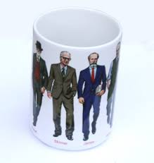 famous coffee mugs amazon com famous psychologists mug industrial u0026 scientific