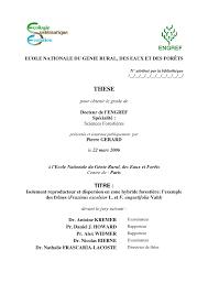 bureau de l ex ution des peines isolement reproducteur et dispersion en pdf available