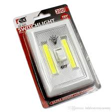 cob led wireless night light with switch 2018 cob led switch light bar wireless magnetic mini led night light