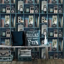 papier peint intissé pour cuisine papier peint intissé cabinet de curiosite bleu leroy merlin