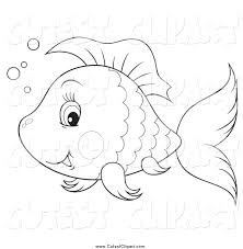 gold fish clipart animated fish pencil and in color gold fish