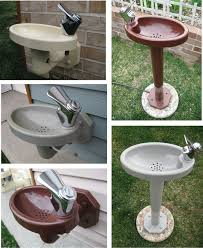 Water Fountains For Backyards by Best 25 Outdoor Drinking Fountain Ideas On Pinterest Rustic