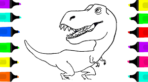 coloring book dragon drawing and coloring video learn to draw