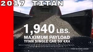 nissan titan cummins towing capacity 2017 nissan titan towing truck bed interior technology off