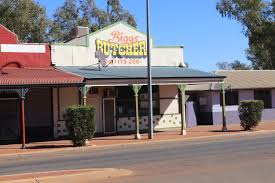 august 2016 allthegobro biggs the butcher in leonora still uses a wooden chopping block lived as a