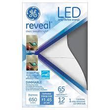 ge reveal 65 watt br30 led light bulb target