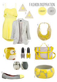 trendy color combo grey