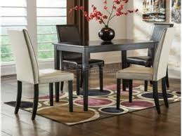 kimonte ivory and brown chairs 5 piece dining collection ashley d250