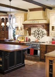 decorating classy custom range hood ideas for furnishing kitchen
