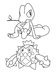 pokemon advanced coloring pages prettify your township