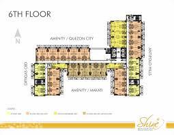 Residence Floor Plans Shine Residences Floor Plan Layout