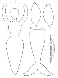 mermaid template 28 images mermaid applique la sirenita