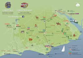Hampshire England Map by The New Forest And Waterside Hampshire Uk Blog May 2015
