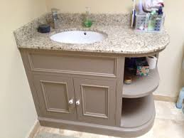 Bathroom Vanity Unit Worktops by Rounded Bathroom Vanity Bathroom Decoration