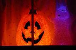 halloween house light display ideas raftertales home