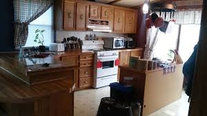 Mobile Home Kitchen Makeover - mobile home gets rustic farmhouse kitchen makeover