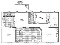 double wide floor plans 3 bedroom 3 bed 2 bath mobile home floor