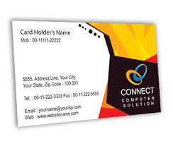 Free Online Business Card Design Business Card Design For Repair Computer Offset Or Digital Printing