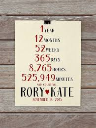 anniversary gifts for him 1 year inspirational 1 year wedding anniversary gift ideas wedding gifts