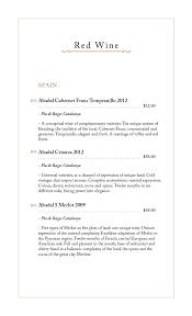 beverage menu u2013 seoul korean restaurant
