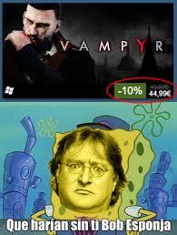 Gabe Newell Memes - qu礬 har祗amos sin gabe newell meme subido por jmf15 memedroid