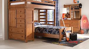 Bunk Bed With Crib On Bottom Rooms To Go Kids