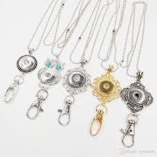 diy necklace wholesale images Wholesale wholesale noosa snap keychain 18k gold lanyard badge jpg