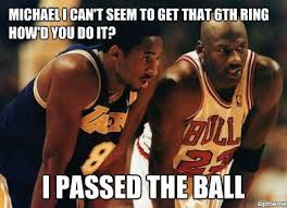 Michael Jordan Shoe Meme - true ya kobe onean doesn t win a game no matter what your fans