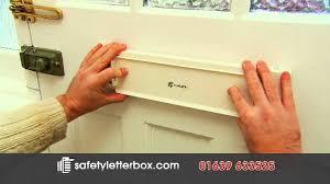 flaplock letterbox security lock youtube