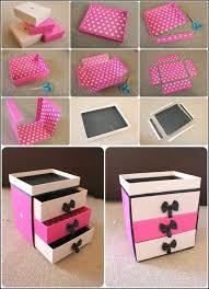 makeup storage diy makeup storage box