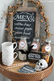Halloween Skull Decorations Holloween Party Ideas Scary Door Decorations For Halloween
