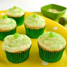 key lime cupcakes with white chocolate frosting u2014 cakewalker
