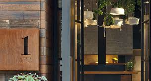 Curb Appeal Front Entrance - haute hospitality design 1 hotel central park u0027s lobby