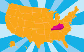 kentucky flag map kentucky pictures and facts