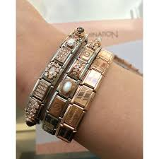 rose gold fashion bracelet images Nomination rose gold couture collection charms and bracelet jpg