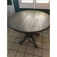 round dual drop leaf dining table international concepts unfinished round 36 inch dual drop leaf